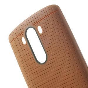 Silks gélový obal pre LG G3 - oranžový - 5