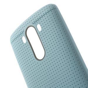 Silks gélový obal pre LG G3 - svetlomodrý - 5