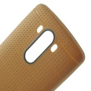 Silks gelový obal na LG G3 - hnědý - 5
