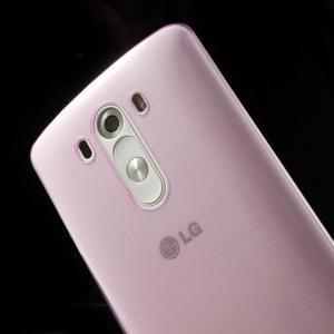 Ultratenký slim obal na mobil LG G3 - rose - 5