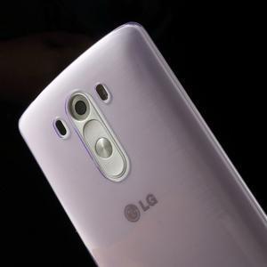 Ultratenký slim obal pre mobil LG G3 - fialový - 5