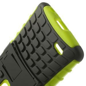 Outdoor odolný obal na mobil LG G3 - zelený - 5