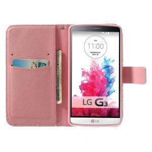 Obrázkové puzdro pre mobil LG G3 - zamilovaný medvedík - 5