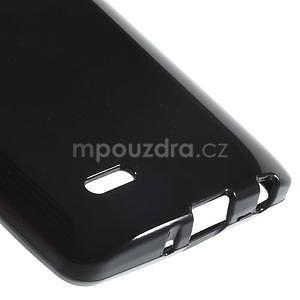 Čierny gélový kryt pre LG G3 s - 5