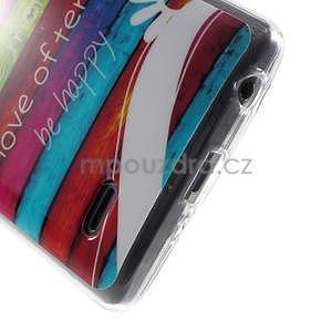 Gélový obal na LG G3 s - barevná cesta - 5