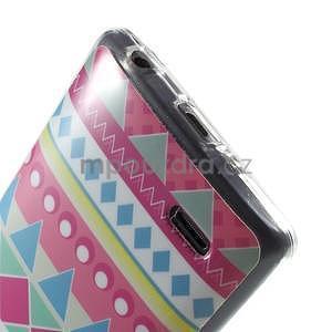 Gélový obal pre LG G3 s - geometrické tvary - 5
