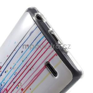 Gélový obal pre LG G3 s - oko barev - 5