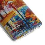 Ultra slim 0.6 mm gélový obal LG G3 s - jesenné precházka - 5/6