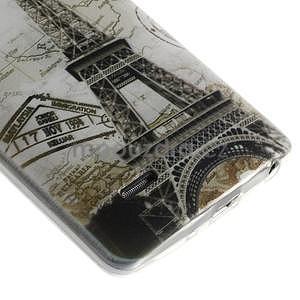 Ultra slim 0.6 mm gélový obal LG G3 s - Eiffelova veža - 5