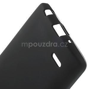 Čierny matný gélový kryt LG G3 s - 5