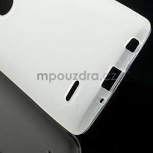 Transparentní matný gélový kryt LG G3 s - 5
