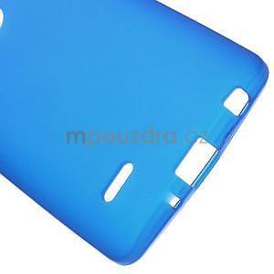 Modrý matný gélový kryt LG G3 s - 5