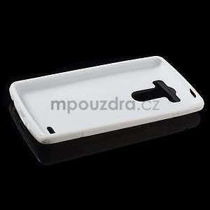 S-line biely gélový obal na LG G3 s - 5