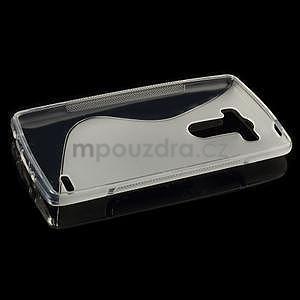 S-line transparentný gélový obal na LG G3 s - 5