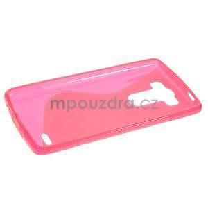 S-line rose gélový obal pre LG G3 s - 5