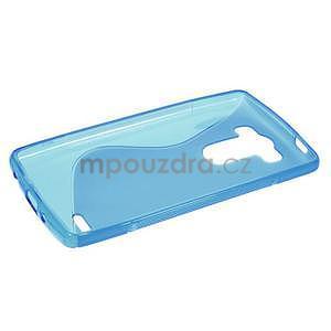 S-line modrý gélový obal pre LG G3 s - 5