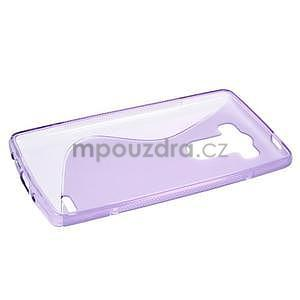 S-line fialový gélový obal na LG G3 s - 5