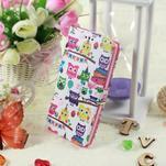 Call peňaženkové puzdro pre LG G4 - malej sovy - 5/6