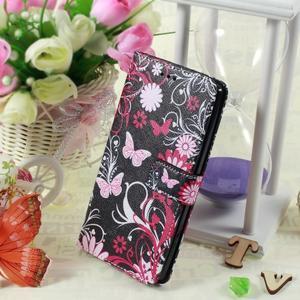Call peňaženkové puzdro pre LG G4 - kouzelní motýľe - 5