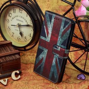 Call peňaženkové puzdro pre LG G4 - UK vlajka - 5