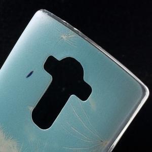 Softy gélový obal pre mobil LG G4 - púpava - 5