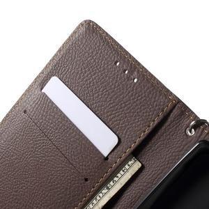 Leaf peňaženkové puzdro pre mobil LG G4 - čierne - 5