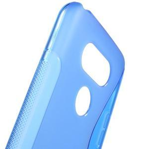 S-line gélový obal pre mobil LG G5 - modrý - 5