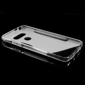 S-line gélový obal pre mobil LG G5 - transparentný - 5