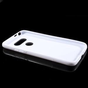 S-line gélový obal pre mobil LG G5 - biely - 5