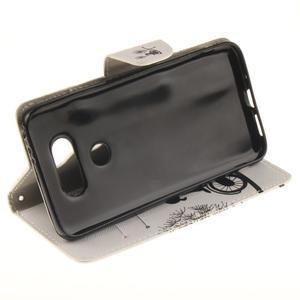 Obrázkové koženkové puzdro pre LG G5 - láska na bicykli - 5