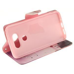Obrázkové koženkové puzdro pre LG G5 - enjoy - 5