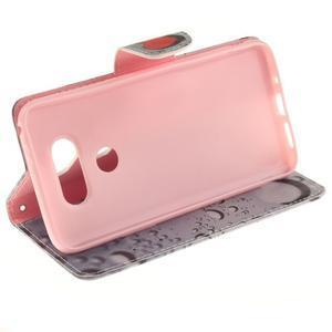 Obrázkové koženkové pouzdro na LG G5 - srdce - 5