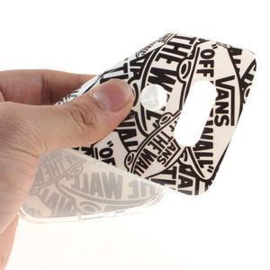 Softy gélový obal pre mobil LG G5 - slova - 5