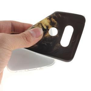 Softy gelový obal na mobil LG G5 - lev - 5