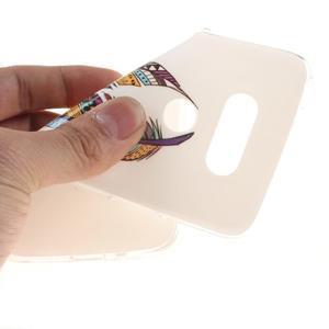 Softy gelový obal na mobil LG G5 - peříčka - 5