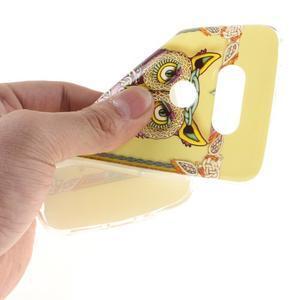 Softy gelový obal na mobil LG G5 - sova - 5