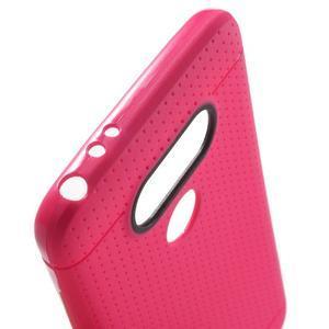 Rubby gélový kryt pre LG G5 - rose - 5