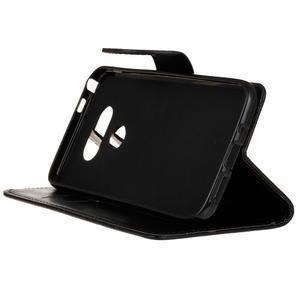 Lees peněženkové pouzdro na LG G5 - černé - 5