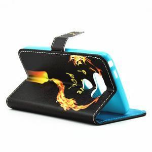 puzdro pre mobil LG G5 - ohnivá láska - 5