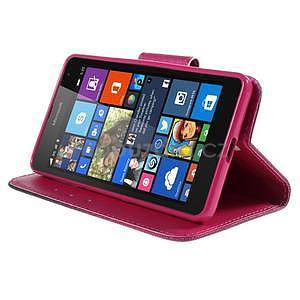 Peňaženkové puzdro Microsoft Lumia 535 - srdca - 5