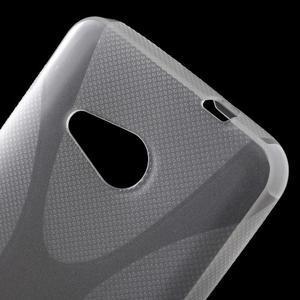 X-line gélový obal pre Microsoft Lumia 550 - transparentný - 5