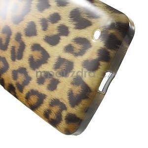Gélový obal na Microsoft Lumia 640 - leopard - 5