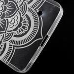 Transparentný gélový obal pre Microsoft Lumia 640 - kvetina - 5/5