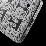 Transparentný gélový obal pre Microsoft Lumia 640 - kúzelný sloni - 5/5