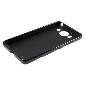 Jelly gélový obal pre Microsoft Lumia 950 - čierny - 5