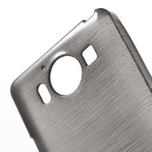Brush hladký gelový obal na Microsoft Lumia 950 - černý - 5
