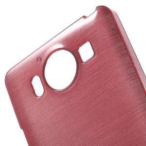 Brush hladký gelový obal na Microsoft Lumia 950 - růžový - 5