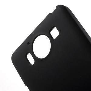 Matný gélový obal pre Microsoft Lumia 950 - čierny - 5