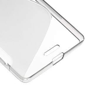 S-line gélový obal pre mobil Microsoft Lumia 950 XL - sivý - 5