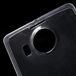Ultratenký gélový obal pre Microsoft Lumia 950 XL - Transparentný - 5